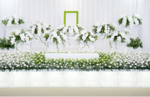 デザイン生花祭壇A