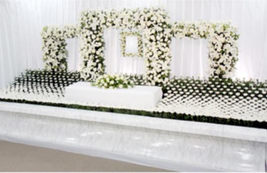 デザイン生花祭壇B