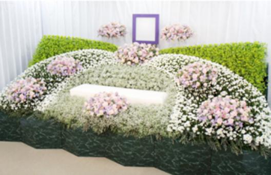 デザイン生花祭壇C