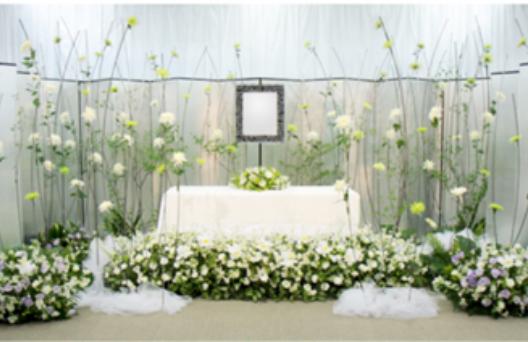 デザイン生花祭壇D
