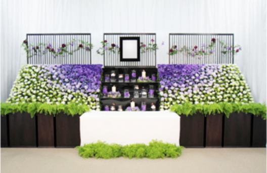 デザイン生花祭壇E