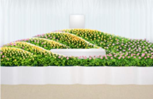 デザイン生花祭壇F