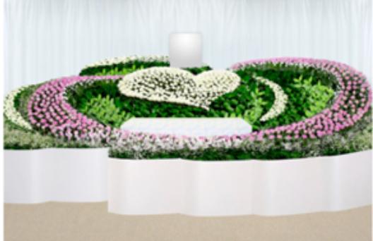 デザイン生花祭壇G