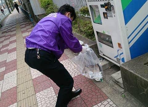 武蔵浦和駅清掃